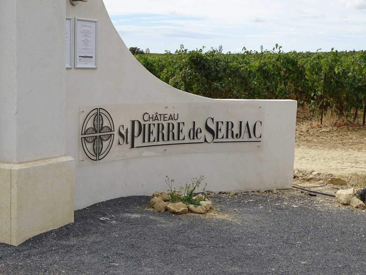 Chateau St Pierre de Serjav September 2017