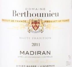 Domaine Berthoumieu label