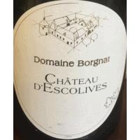Domaine Borgnat wine label