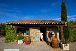 Chateau Maylandie wine cave