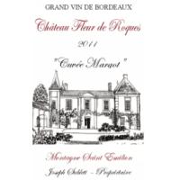 Chateau Fleur de Roques wine label