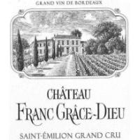 Chateau Franc Grace Dieu wine label