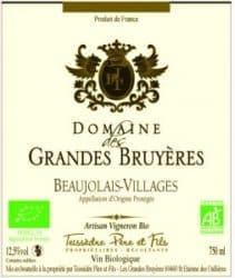 Domaine de Grandes Bruyeres label