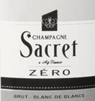Champagne Sacret label
