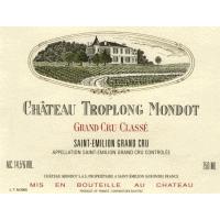 Chateau Troplong Mondot wine label
