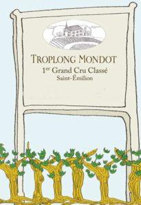 Chateau Troplong Mondot sign